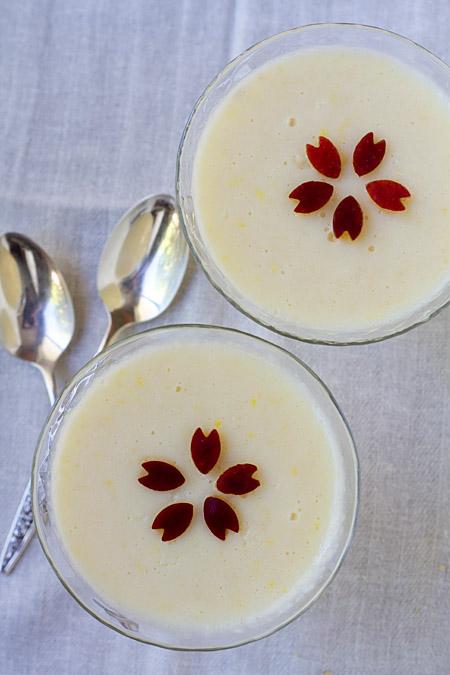 Tart Apple Yogurt Mousse For Two