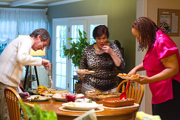 A Food Family Thanksgiving Feast