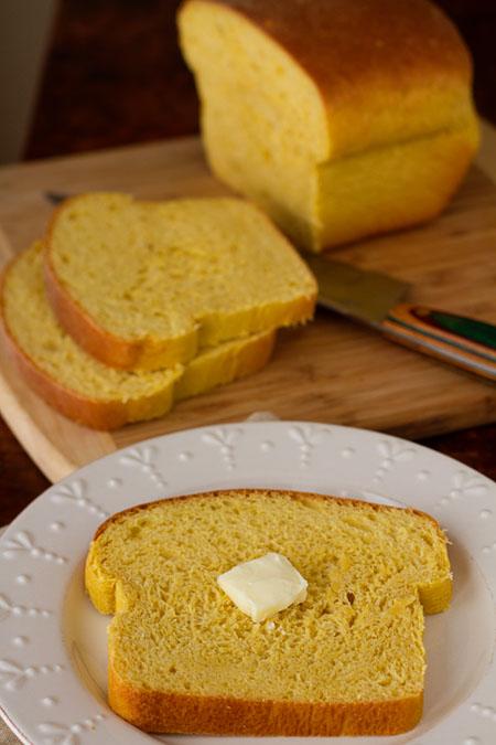 Pumpkin Coconut Yeast Bread