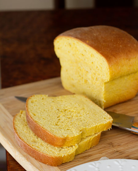 Warm Pumpkin Coconut Bread