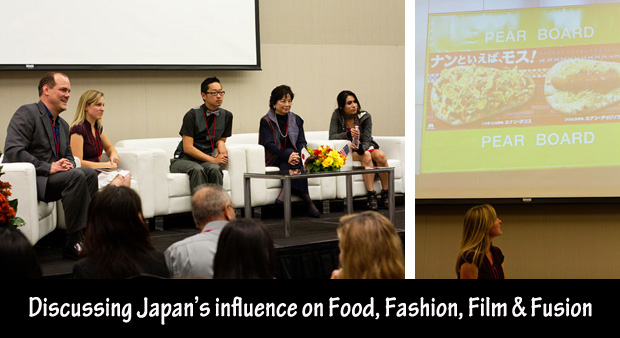 Food, Fashion, Film & Fusion Panel