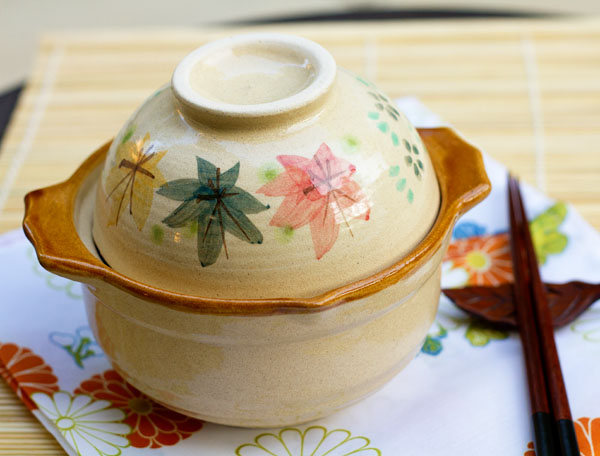 Nabe, Japanese clay pot