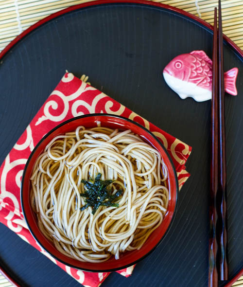 Toshikoshi Soba for New Year's Eve