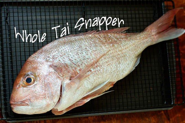 Whole Tai Snapper