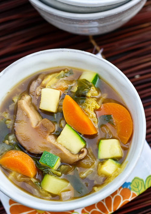 Healthy Garden Vegetable Chowder