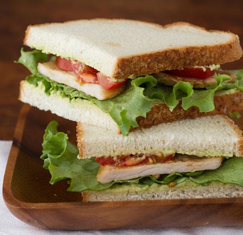 Ginger Pork Sandwich