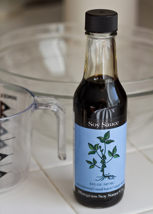 Kentucky Bourbon Barrel Aged Bluegrass Soy Sauce