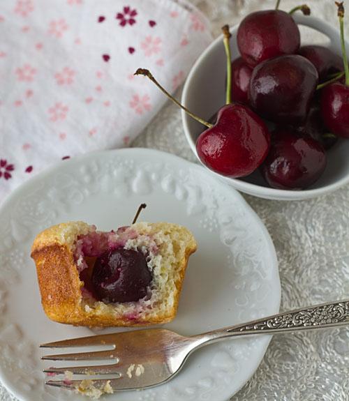 Cherry-filled Lemon Tea Cake