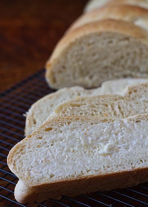Sliced Orange Cardamom Bread