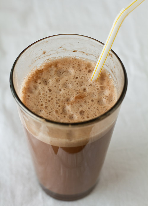 Delicious Chocolate Egg Cream