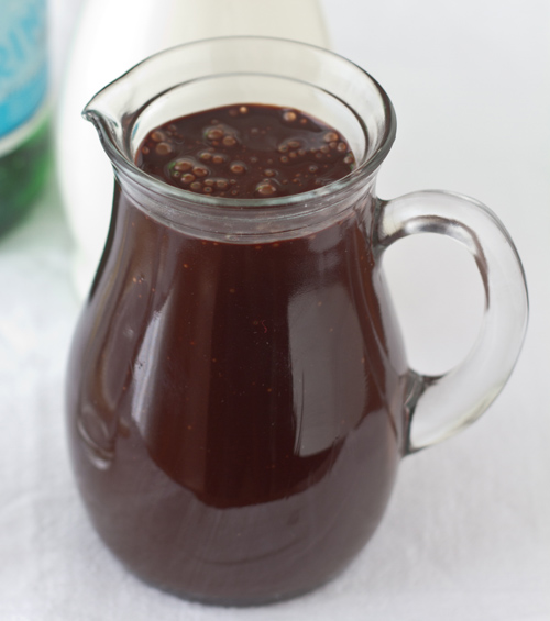 Fuji Mama's Chocolate Syrup