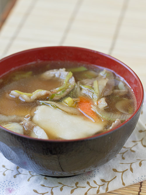 Hittsumi-Jiru, Pinched Noodle Soup with Pork