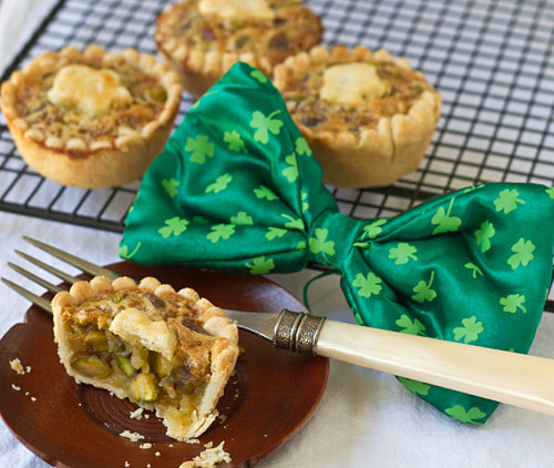 Mini Honey Pistachio Pies Recipe — Dishmaps