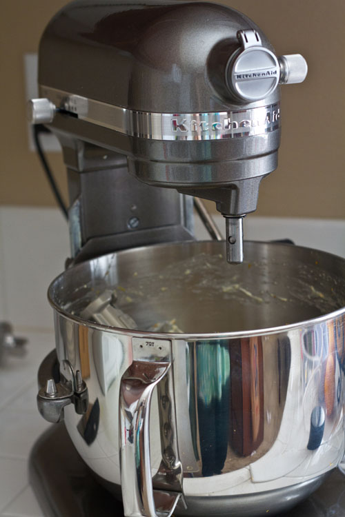 Lulu, my KitchenAid mixer