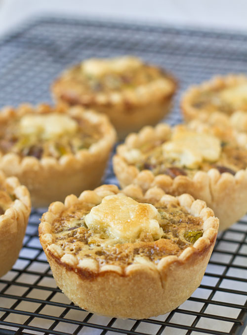 Mini Honey Pistachio Pies