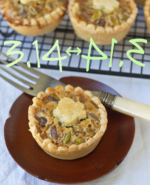 Mini Honey Pistachio Pies Recipe — La Fuji Mama