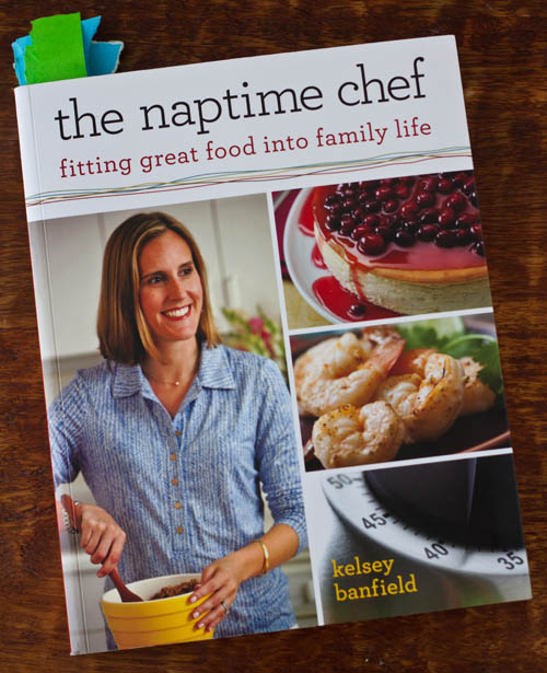 The Naptime Chef, by Kelsey banfield