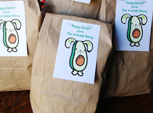 Avocado Bunny Deliveries