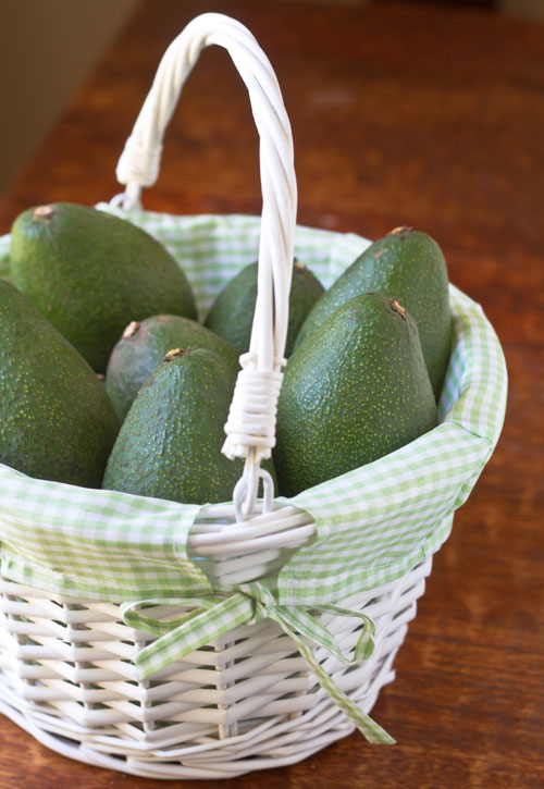 Avocado Egg Easter Basket