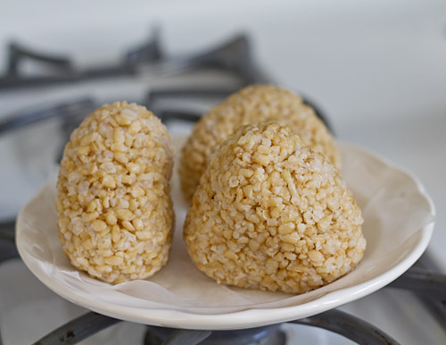 Brown Rice Onigiri