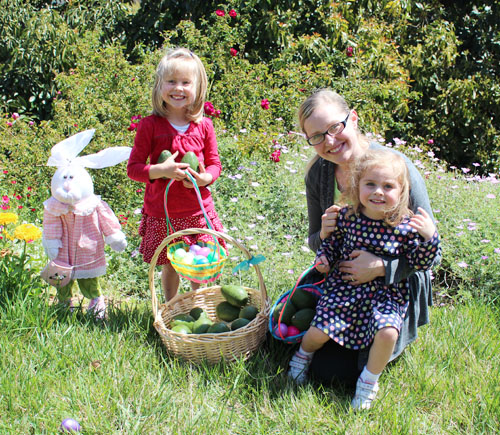 Happy Easter from the Fuji Family