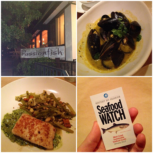 Sustainable seafood a call to action la fuji mama for Passion fish restaurant