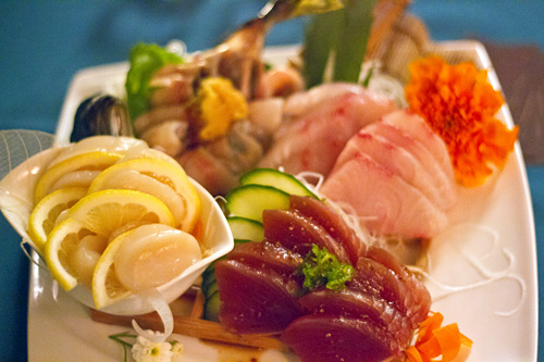 Sustainable Sashimi from Tataki Sushi