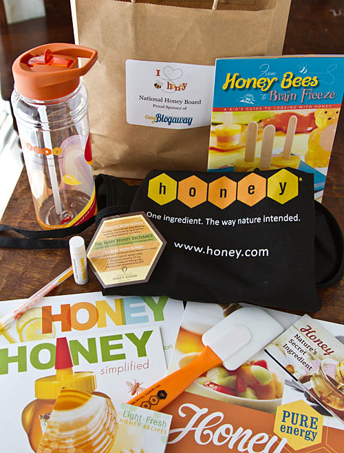Camp Blogaway goodies from the National Honey Board