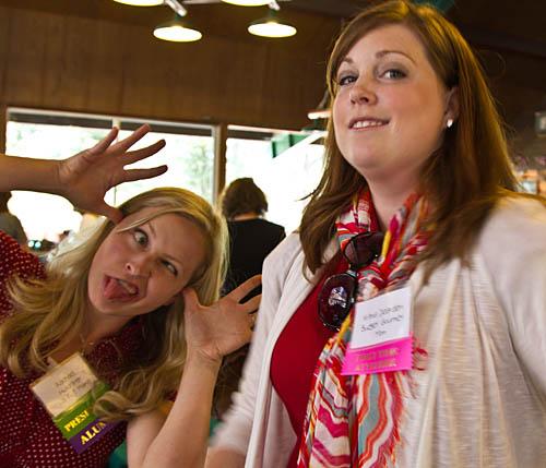 Rachael and Krista, Budget Gourmet Mom