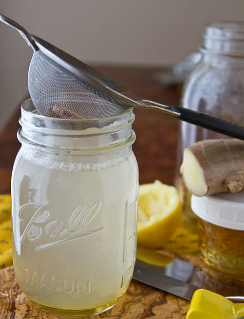 Honey Ginger Lemon Tea Recipe — La Fuji Mama