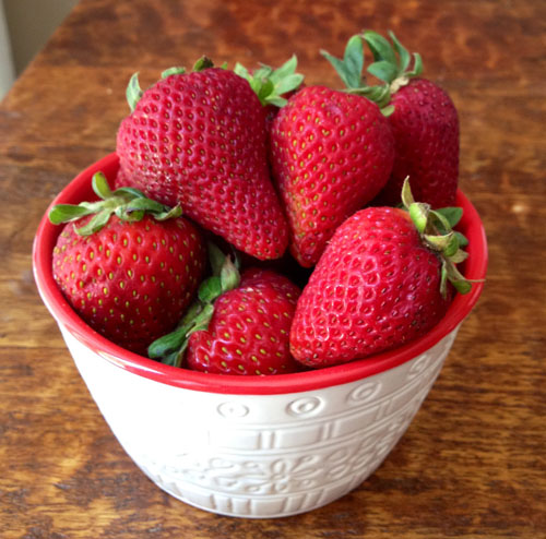 Fresh Ripe Strawberries