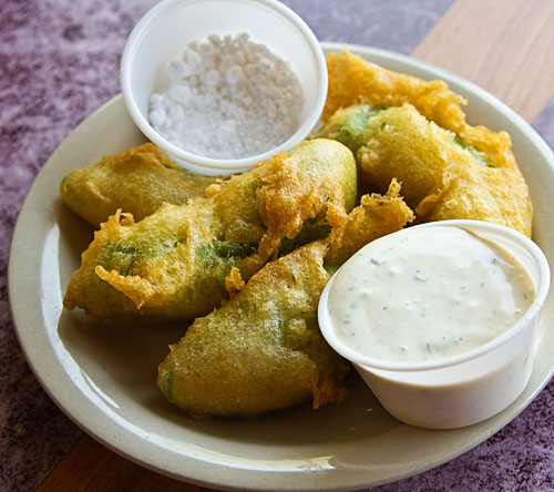Avocado Fries at The Wayside Cafe