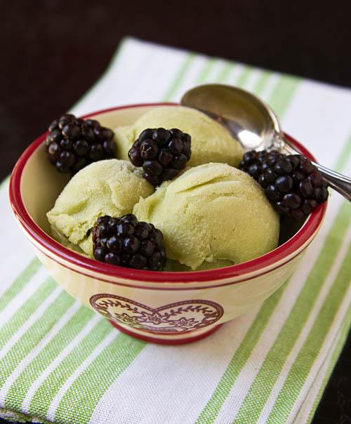 Avocado Honey Ice Cream