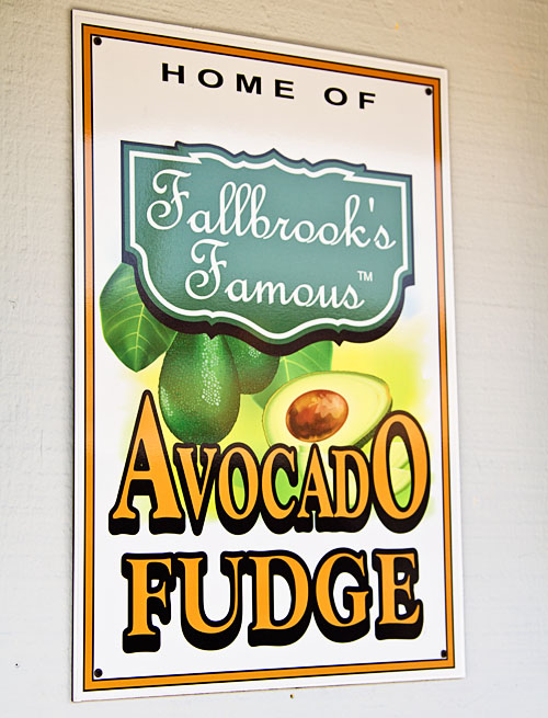 Avocado Fudge at Retro Candy and Toys in Fallbrook, CA