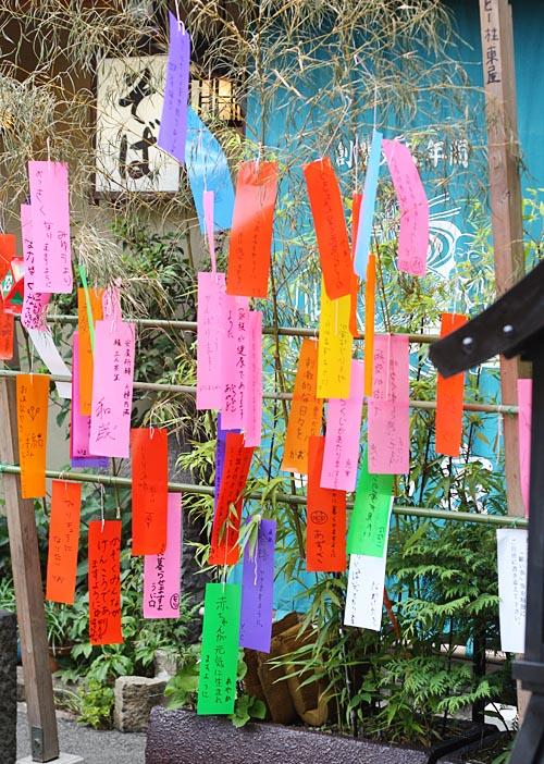 Tanabata Tanzaku Wishes