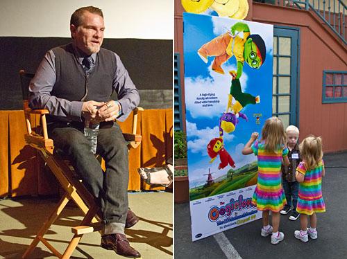Kenn Viselman and the Oogieloves movie display