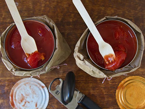 Taste test of canned whole tomatoes