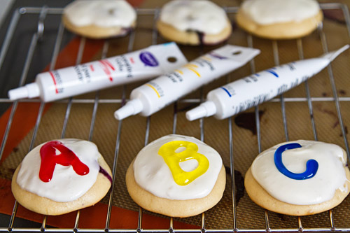 Learning ABCs with cookies