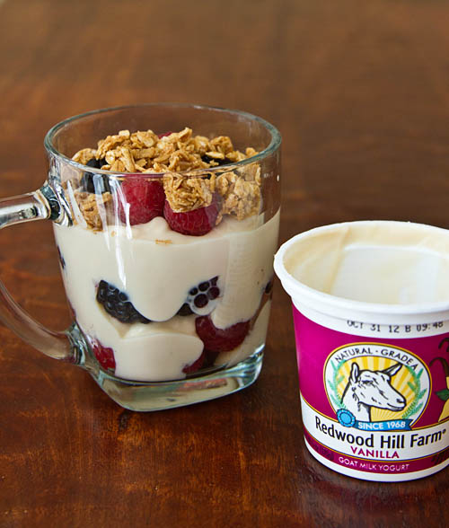 Goat's Milk Yogurt Parfait