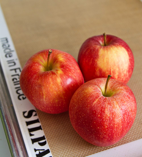 Crisp, tart fall apples