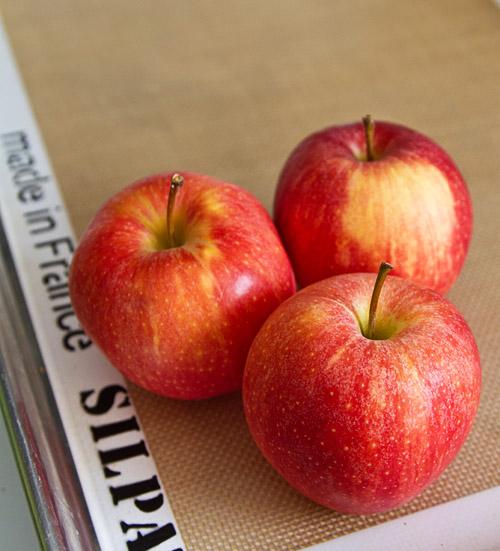 Crisp, tart fall apples