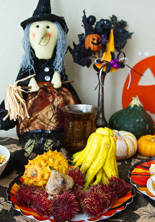 Decorating with Spooky Foods