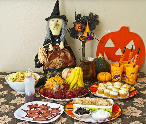 Halloween Spooky Foods