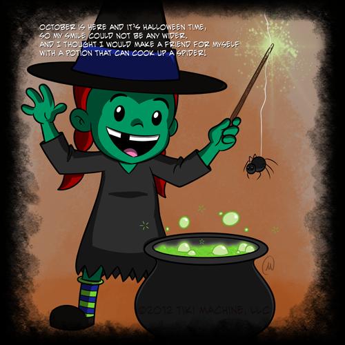 October 2012 Lucy Eats Halloween