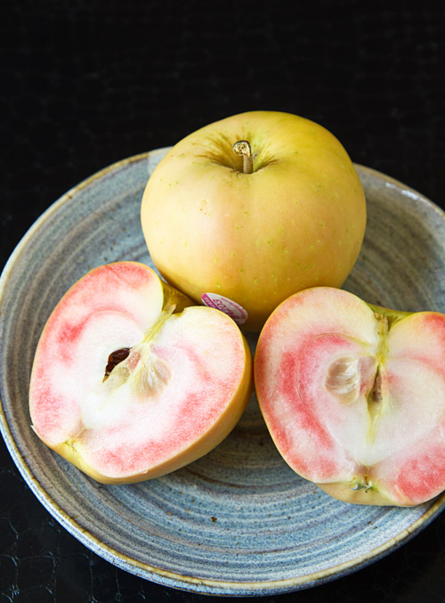 Pink Pearl heirloom apples