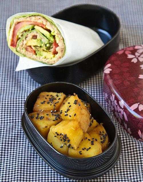 Sandwich Wrap Bento