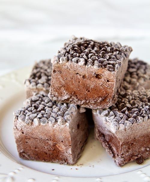 Double Chocolate-Orange Marshmallows