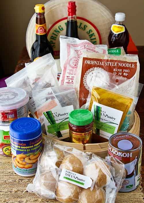 Farina's Southeast Asian Pantry Kit