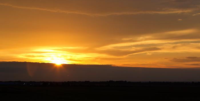 Idaho Sunset, September 24th, 2012
