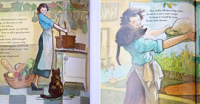 Minette's Feast Illustrations